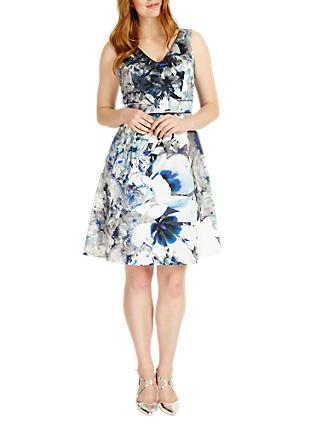 Studio 8 Antonia Abstract Floral Print Dress, Multi