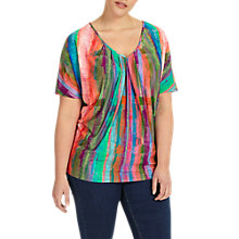 Buy Studio 8 Kady Abstract Print Top, Multi Online at johnlewis.com