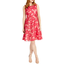 Buy Studio 8 Ellen Dress, Hot pink Online at johnlewis.com