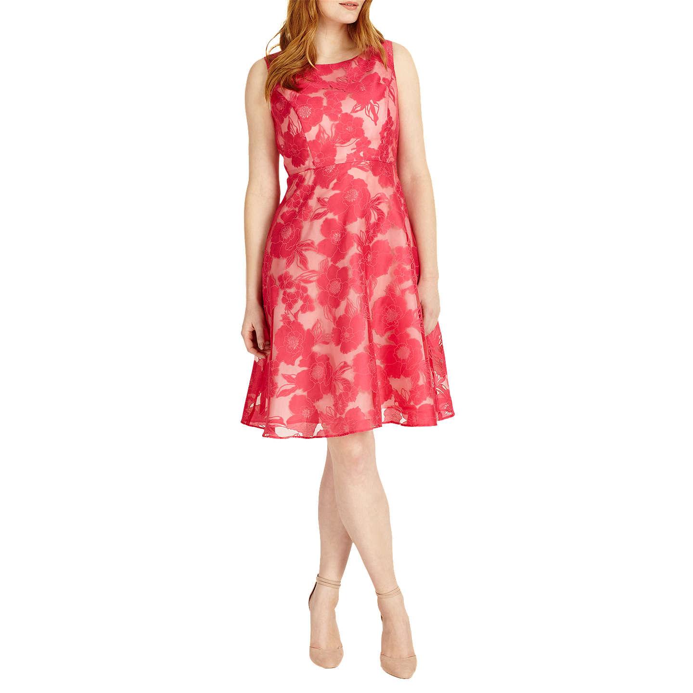 fer Studio 8 Ellen Dress Hot pink at John Lewis
