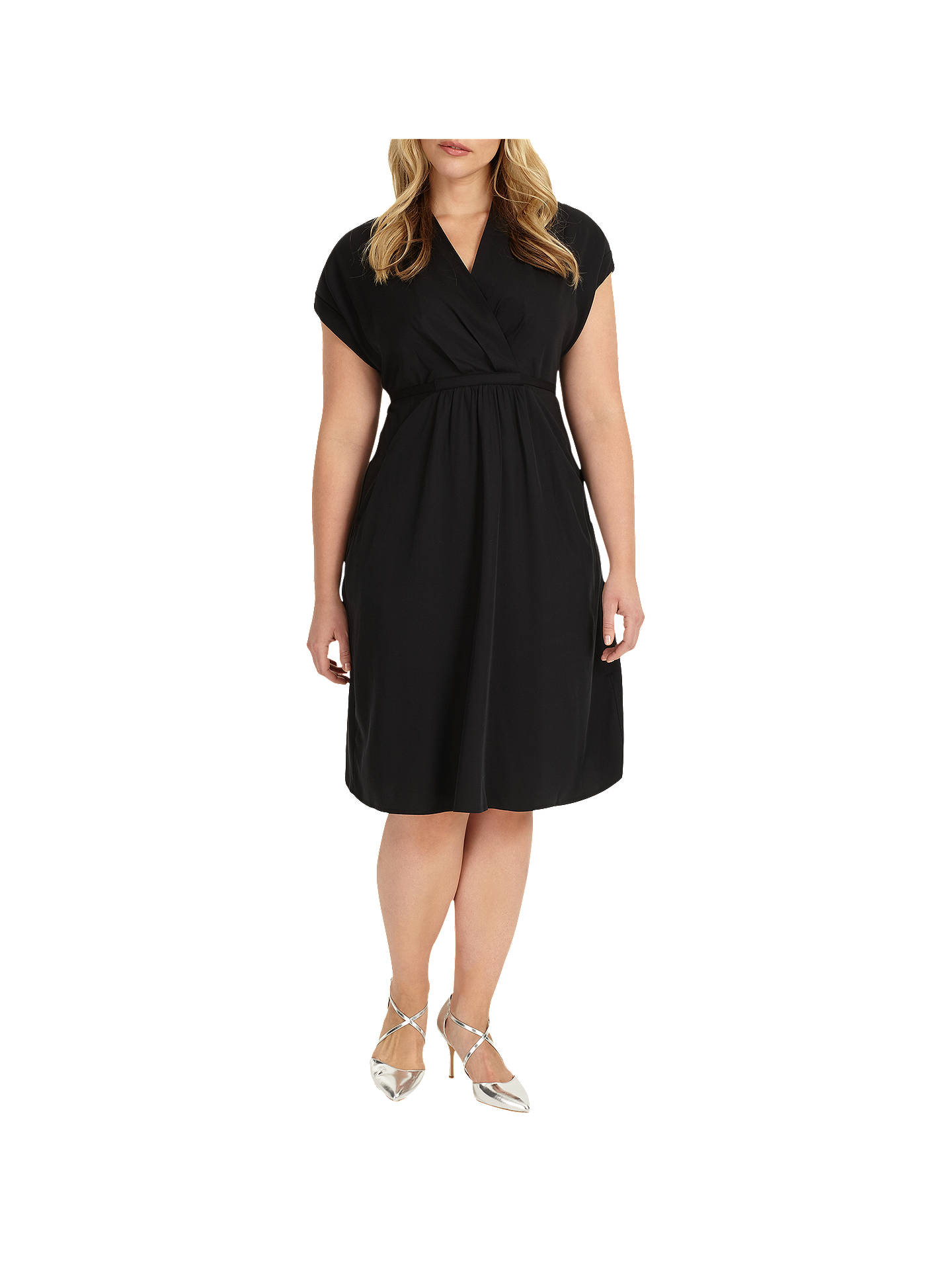 BuyStudio 8 Andrina Tunic Dress, Black, 26 Online at johnlewis.com