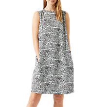 Buy Jigsaw Speckled Tide Dress, Morning Sky Online at johnlewis.com
