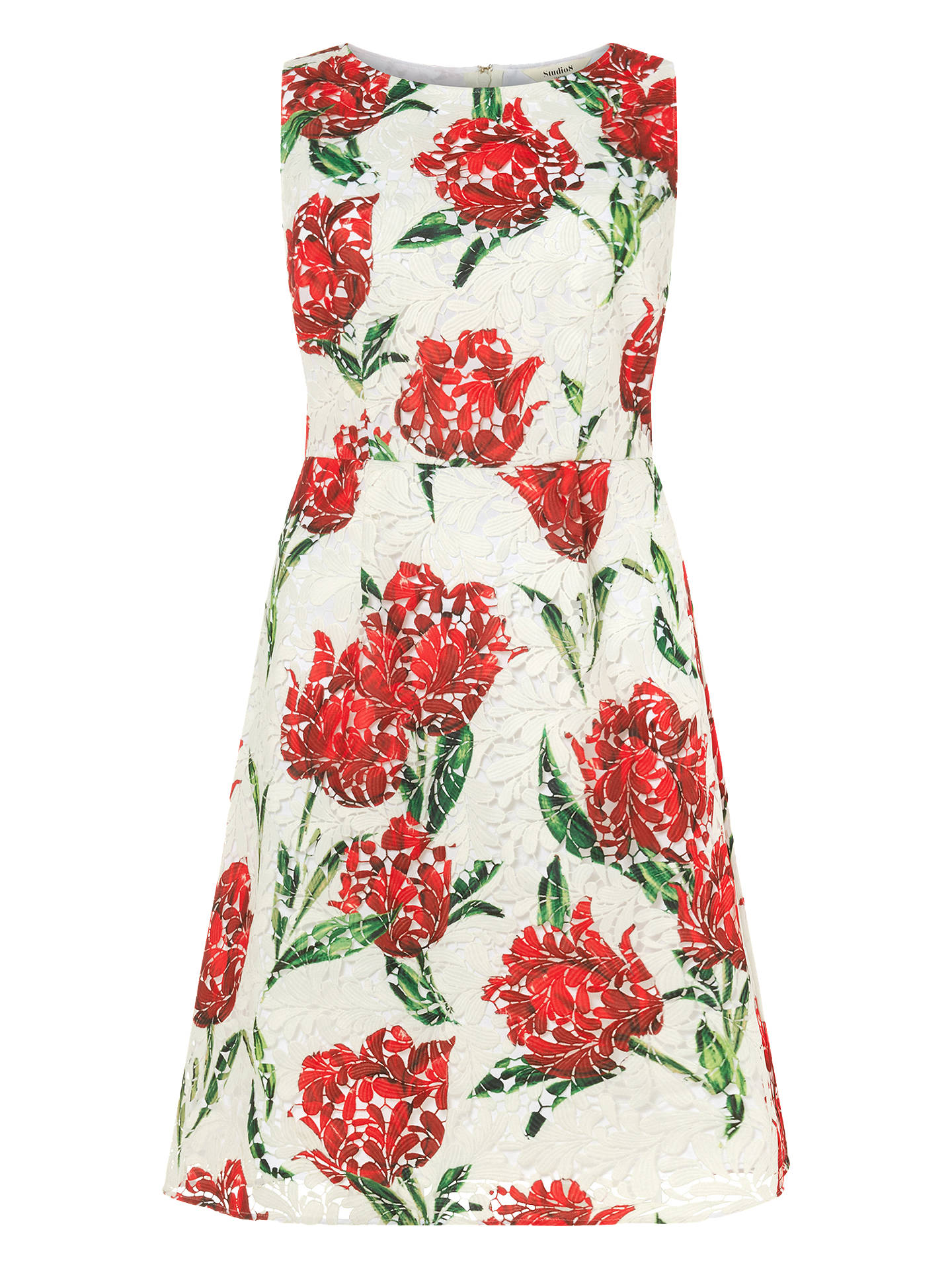 BuyStudio 8 Logan Floral Print Dress, Multi, 14 Online at johnlewis.com