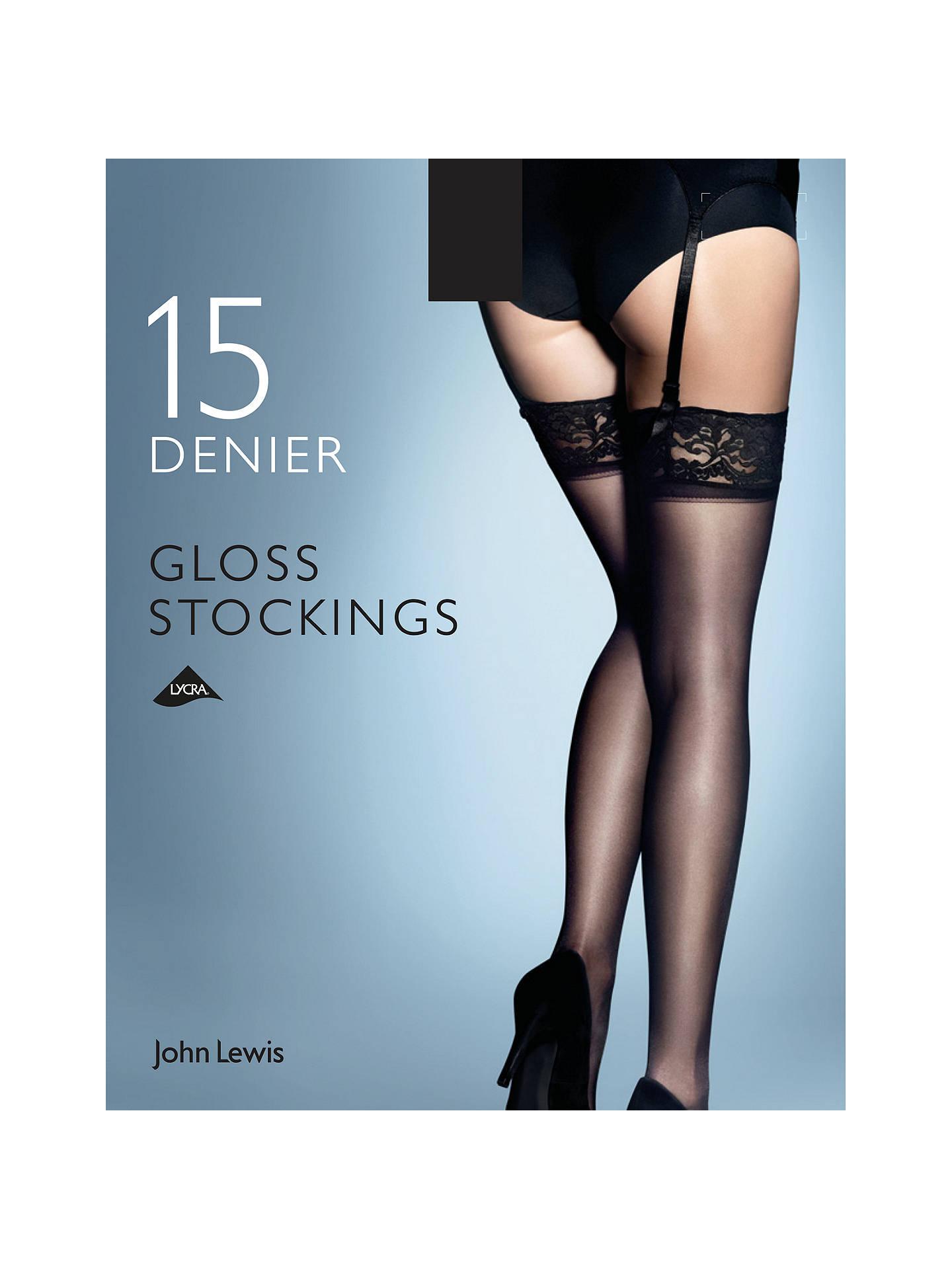 814888af2 Buy John Lewis   Partners 15 Denier Gloss Stockings