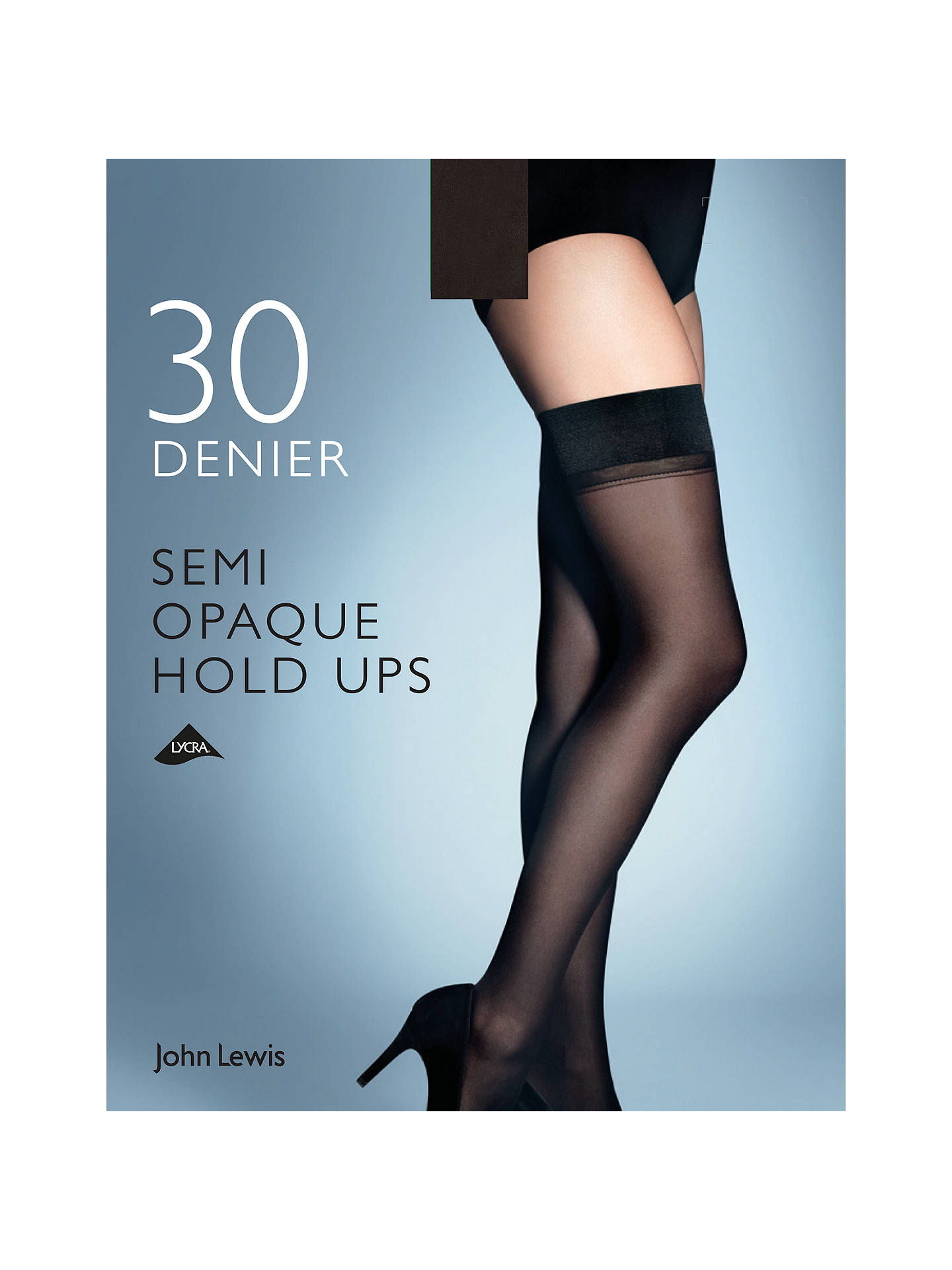 e3f0c650a Buy John Lewis   Partners 30 Denier Semi Opaque Hold Ups