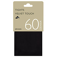 Buy John Lewis 60 Denier Velvet Touch Opaque Tights Online at johnlewis.com