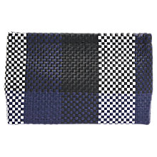 Buy Jigsaw Woven Check Clutch Bag Online at johnlewis.com