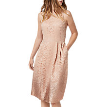Buy Warehouse Foil Lace Dress Online at johnlewis.com