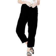 Buy Ghost Birdie Trousers, Black Online at johnlewis.com