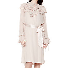 Buy Ghost Alexa Dress, Nude Online at johnlewis.com