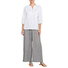 Buy East Delvin Check Trousers, Grey Online at johnlewis.com
