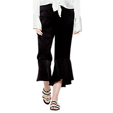 Buy Ghost Eden Trousers, Black Online at johnlewis.com