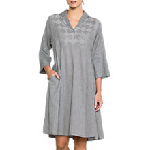 Buy East Inez Check Dress, Black Online at johnlewis.com