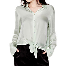 Buy Ghost Saffron Blouse, Green Mist Online at johnlewis.com