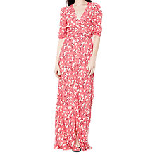 Buy Ghost Floral Tara Dress, Multi Online at johnlewis.com