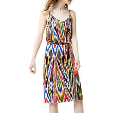 Buy Warehouse Rainbow Ikat Cami Dress, Multi Online at johnlewis.com