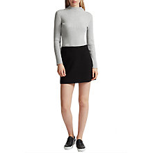 Buy French Connection Bambino Rib Knit Jumper, Light Grey Mel Online at johnlewis.com