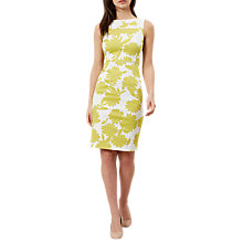 Buy Hobbs Cleo Dress, Ivory/Lemondrop Online at johnlewis.com