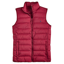 Buy Joules Go To Padded Gilet, Rhubarb Online at johnlewis.com