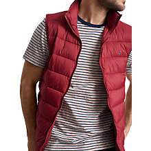 Buy Joules Go To Padded Gilet Online at johnlewis.com