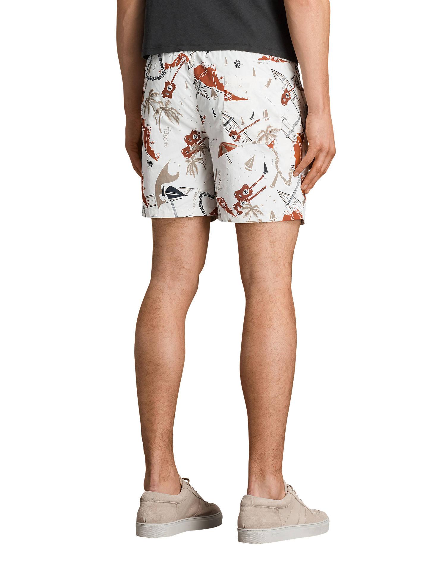 2a4b9b3e0fa59 ... Buy AllSaints Waikiki Swim Shorts, Ecru White, XS Online at  johnlewis.com ...