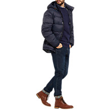 Buy Joules Brampton Jacket, Navy Online at johnlewis.com