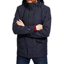 Buy Joules Bridgefield Hooded Waterproof Jacket, Marine Navy Online at johnlewis.com