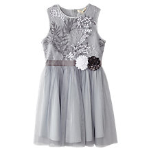 Buy Yumi Girl Organza Dress, Grey Online at johnlewis.com