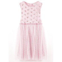 Buy Yumi Girl Sparkly Star Prom Dress, Light Pink Online at johnlewis.com