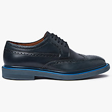 Buy Paul Smith Junior Leather Brogues, Dark Navy Online at johnlewis.com