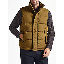 Buy JOHN LEWIS & Co. Quilted Gilet, Khaki Online at johnlewis.com