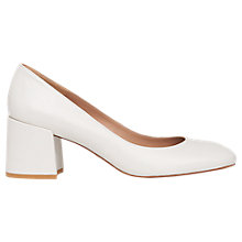 Buy Whistles Esther Block Heeled Court Shoes Online at johnlewis.com