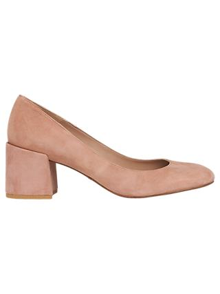 Whistles Esther Block Heeled Court Shoes
