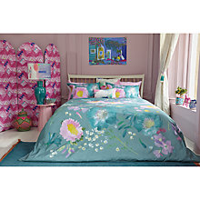 Buy bluebellgray Kippen Print Cotton Duvet Cover and Pillowcase Set Online at johnlewis.com