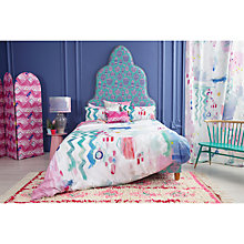 Buy bluebellgray Medina Print Cotton Duvet Cover and Pillowcase Set Online at johnlewis.com