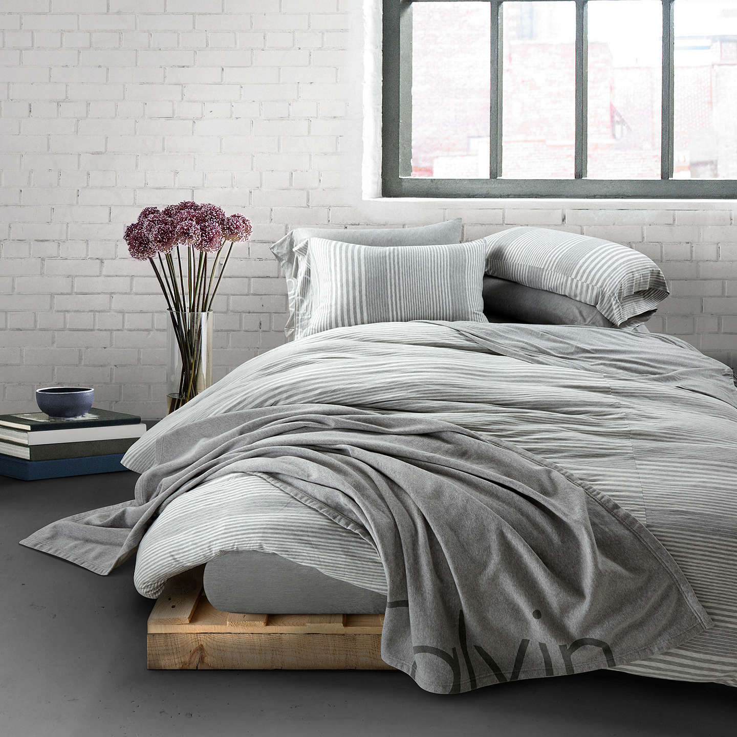 cotton resmode en hei usm modern klein sharpen pinstripe trilin qlt calvin duvet pulse bed fmt pucker in main wid op shadow cover bedding