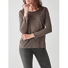 Buy Des Petits Hauts Josefi Top, Gris Chine Online at johnlewis.com