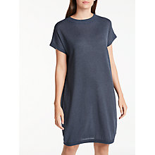 Buy Numph Roseville Knitted Dress, Deep Cobalt Online at johnlewis.com