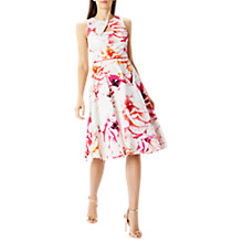 Buy Coast Janni Cotton Full Midi Dress, Multi Online at johnlewis.com