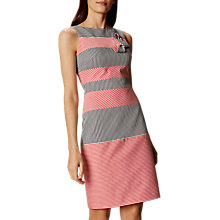 Buy Karen Millen Striped Knotted Detail Dress, Multi Online at johnlewis.com