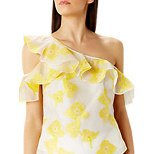Buy Coast Annie One Shoulder Frill Top, Multi Online at johnlewis.com