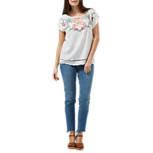 Buy Sugarhill Boutique Tropical Flamingo Top, Multi Online at johnlewis.com
