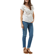 Buy Sugarhill Boutique Butterfly Embroidered Cutwork Top Online at johnlewis.com