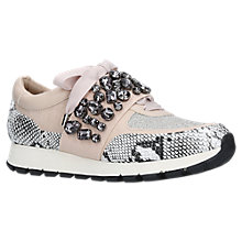 Buy KG by Kurt Geiger Lovely Embellished Trainers Online at johnlewis.com