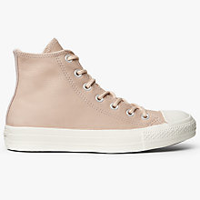 Buy Converse Chuck Taylor All Star Ox High Top Trainers, Dusk Leather Online at johnlewis.com