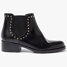 Buy John Lewis Persia Studded Chelsea Boots, Black Online at johnlewis.com