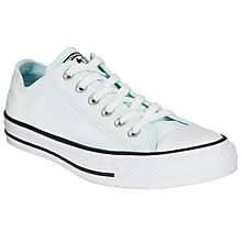 Buy Converse Chuck Taylor All Star Ox Velvet Trainers, Glacier Online at johnlewis.com