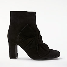 Buy John Lewis Odilia Block Heeled Ankle Boots, Black Online at johnlewis.com