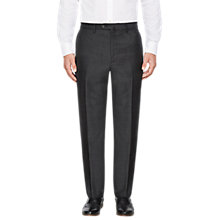 Buy Hackett London Wool Puppytooth Regular Fit Suit Trousers, Charcoal Online at johnlewis.com