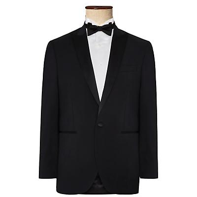 Hackett London Regular Fit Dress Suit Jacket, Black